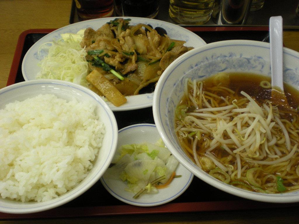 福しん しょうが焼き+おともラーメン 001.jpg