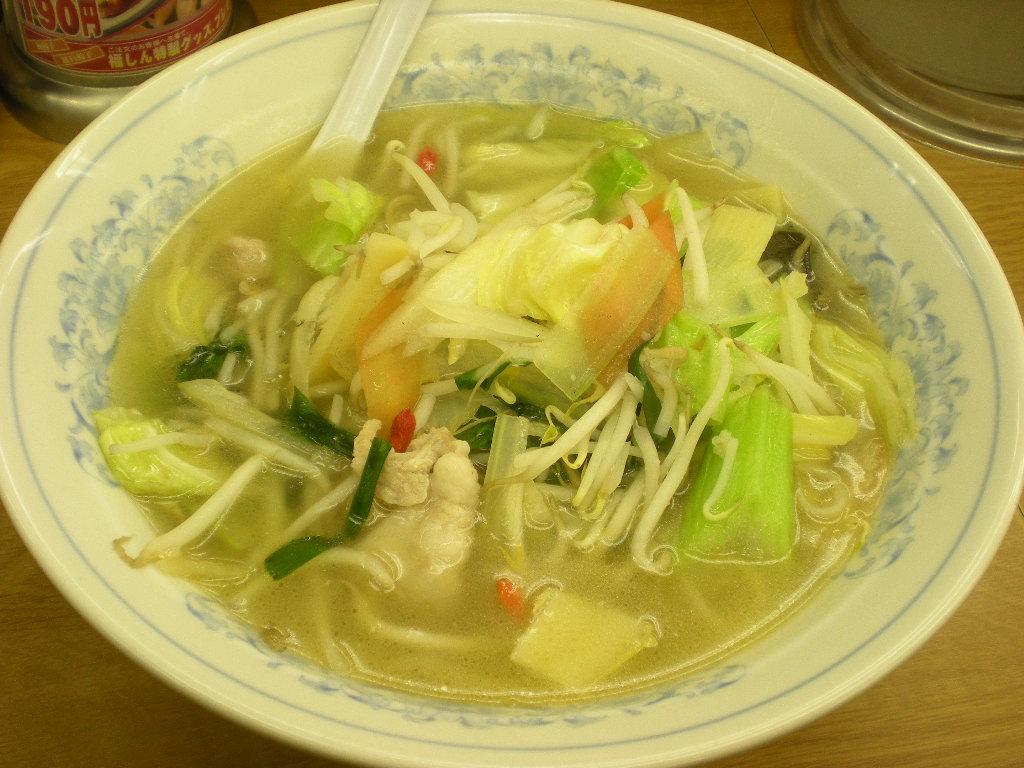 福しん タンメン+餃子 002.jpg